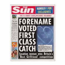 The Sun Best Girlfriend Newspaper